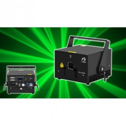 Laser verde 1W - DMX/ILDA -...