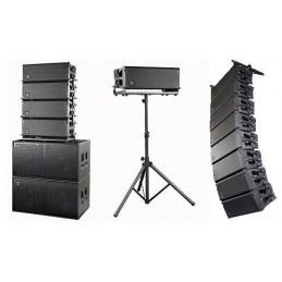 Impianto audio line array...