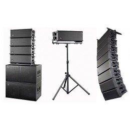 Impianto audio line array...